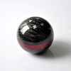 Universal Carbon Fiber Gear Shift Knob for Cars/ Trucks with 5 Speed or 6 Speed
