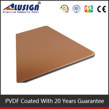 Cheap aluminum sandwich panel raw materials fire resistant interior wall material