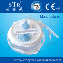 Medical disposable high quality negative pressure drainage container / pump with CE/ISO