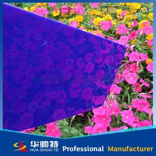 colorful cast plexiglass sheet