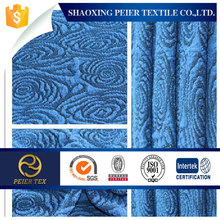 silver polyester knitted jacquard fabric for ladies dress