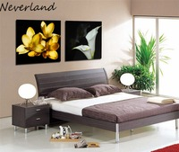 Wholesale 2pcs Flower Oil Painting Printed Painting Oil Painting On Canvas Home Decorative Art Picture DIY HH20