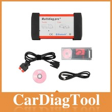 New Bluetooth Multidiag Pro+ interface for Cars/Trucks OBD2 4GB Card Car Cables Multi-diag Pro+ auto Multidiag scanner --Hot