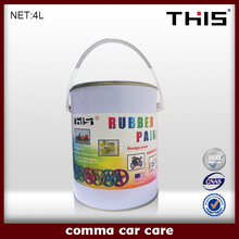 2015 black rubber spray paint, Waterproof Plasti Dip 400ml/1L/4L
