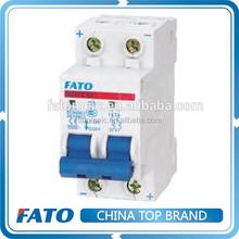 FATO DZ47Z-63 electrical 12v dc circuit breaker 24v dc mcb
