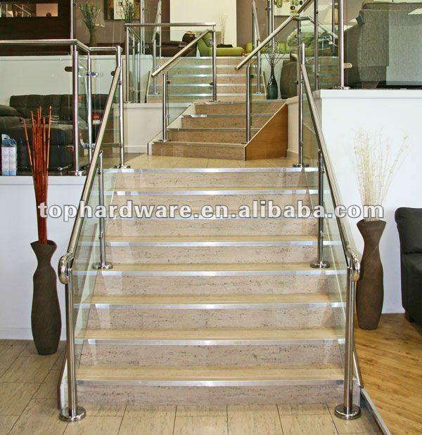 Interior escaleras pasamanos dise os barandillas y - Pasamanos escalera interior ...