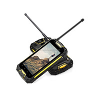 Snopow M8 IP68 waterproof 4G full android 5.1 OTG NFC RFID soft keypad mobile phones