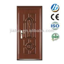 decoración de la puerta de acero