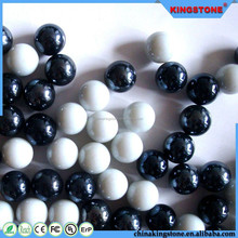 Fashionable design high quality soda-lime glass balls,glass cover very clear glass balls with opening