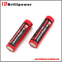 Brillipower battery rechargeable li-ion battery 18650 lithium battery