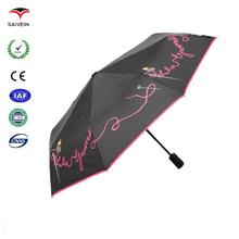 New Style Auto Open Anti UV Printing Umbrella