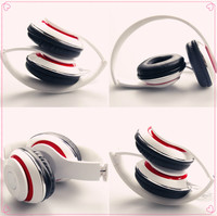 2015 Microphone/Noise Cancelling Wireless Sport MP3 Headphone Wholesale