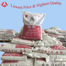 gypsum powder/plaster powder for construction/clay