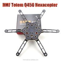 F11798 HMF Totem Q450 Alien Across Carbon Fiber RC Hexacopter Frame Rack Ultralight for DIY FPV Multirotor Drone AS DJI F450