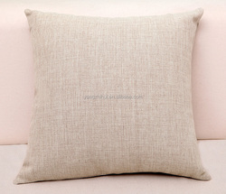 Custom blank linen pillow case, custom linen blank Pillow Cover
