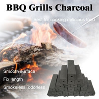 Square hexagon grill coals bbq charcoal suppliers