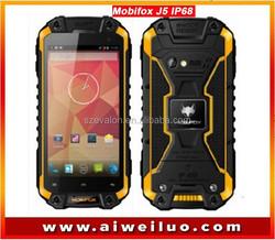 "Mobifox J5 IP68 waterproof phone rugged smart phone MTK6589 Quad Core Android 4.2 4.5"" HD with WalkieTalkie runbo X6 killer"