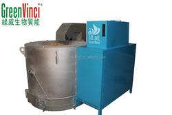 1200 centigrade biomass fired aluminum melting holding furnace