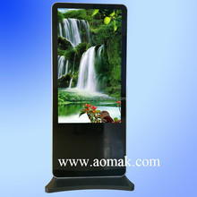 Best price touch screen hotel lobby kiosk,shopping mall advertising touch screen kiosk, multimedia digital signage display stand