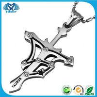 Bijouterie China Sideways Cross Necklace