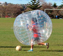 China wholesale fashionable bubble ball suit, human ball, bumper soccer for promotion