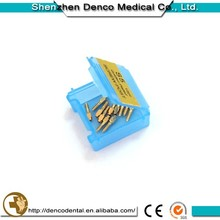 Top Products Hot Selling New 2015 Gold Plated Dental Screw Post Manufacture with ISO CE certificate