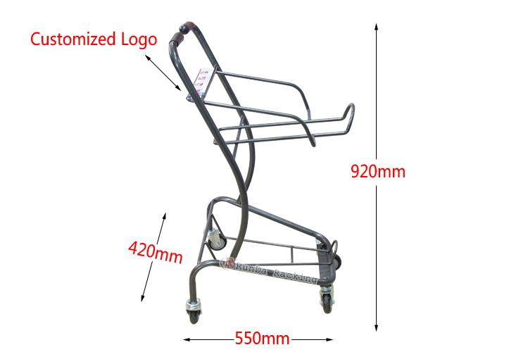 supermarket Shopping cart trolley 2