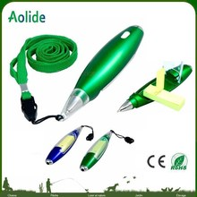 Plastic advertising ballpoint pen Multi-functional Plastic Pen/Ballpoint Pen With Light for Promotional