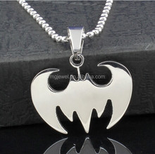 Custom pendant stainless steel jewelry wholesale cost