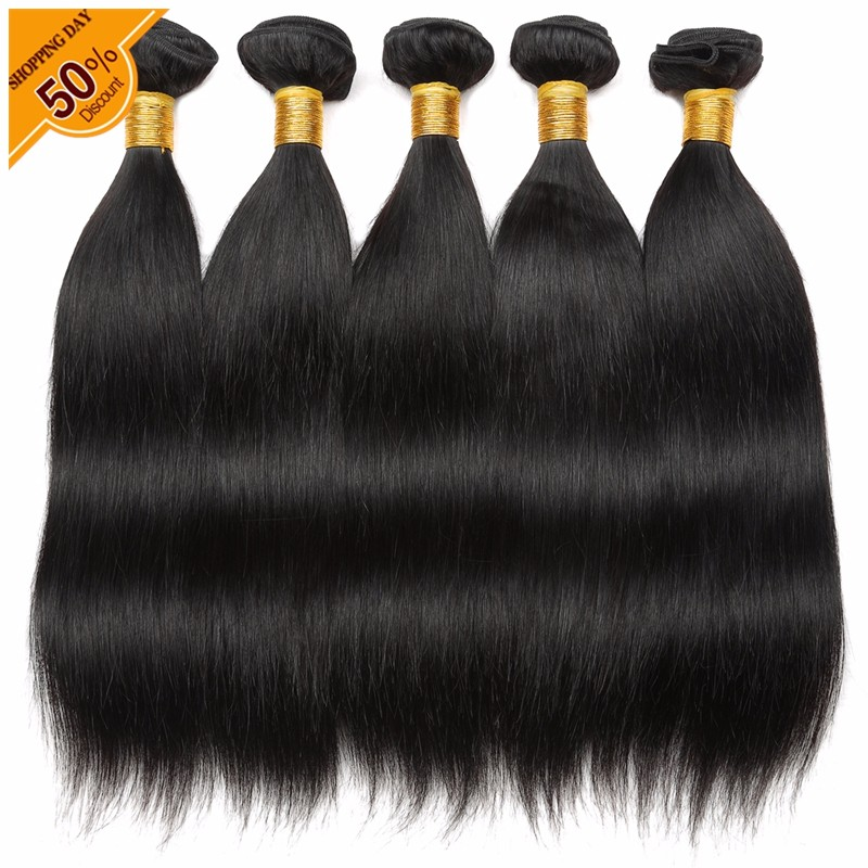 Peruvian silky straight human hair extension