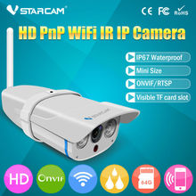 ONVIF HD WIFI Outdoor IP67 64GB SD card cctv manufacturing star light camera