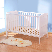 3 in 1 wooden sleigh baby cot/toddler bed/ sofa