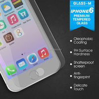tempered glass screen protection 0.3mm for Iphone 6
