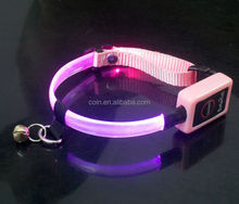 illumination reflective strips led collar