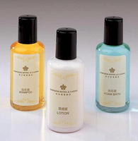 Hotel Guest Bathroom Amenity cosmetics List/Hotel amenities set with bottle cosmetic/Empty Cosmetics Packaging Tubes