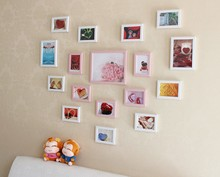 High-end wooden photo frame decorating wall pictures for home