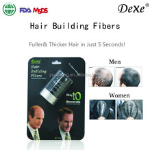 Factory Price miracle hair building fiber with hair thickening cotton fibers