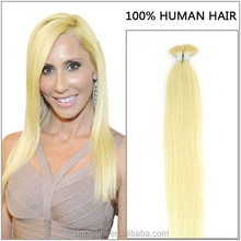 New arrival wholesale virgin keratin tipped human hair extension All colors, lenghts are available