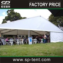 Best width 18m big clear roof marquee tent for wedding
