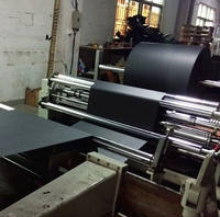 Long Grain/Short Grain Black Papers 180g Mixed Black Cardboard