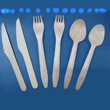 Disposable wooden spoon fork knife / honey spoon / ice cream bamboo spoon