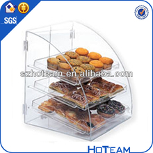 hot sale acrylic cake box shelves