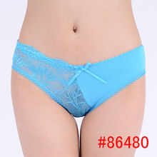 Sexy lace cotton panties VS sexy cotton panties for little girls hot V panties women sexy underwear