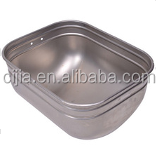 Made in China stainless steel pig feeding trough
