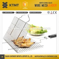 Barbecue grill wire netting,crimped wire mesh for roast,bbq grill mat