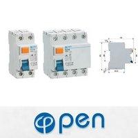 OL2-63 ID 2P 4P 25A 40A 63A RCCB Circuit Breaker