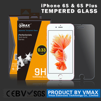No.1 Trade assurance !! 0.26mm 9H Anti-Shock Premium tempered glass mobile screen guard for iPhone 6s / 6s Plus OEM ODM
