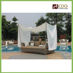 Outdoor Rattan Beach Sun Bed Furniture Designs Prices Sofa Cum Bed