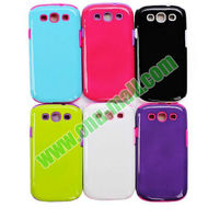 High Quality Hot Sale Silicon+TPU Case Cover for Samsung Galaxy S3/i9300