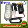 18w water proof IP68 stainless steel 316 underwater led yacht boat marine light